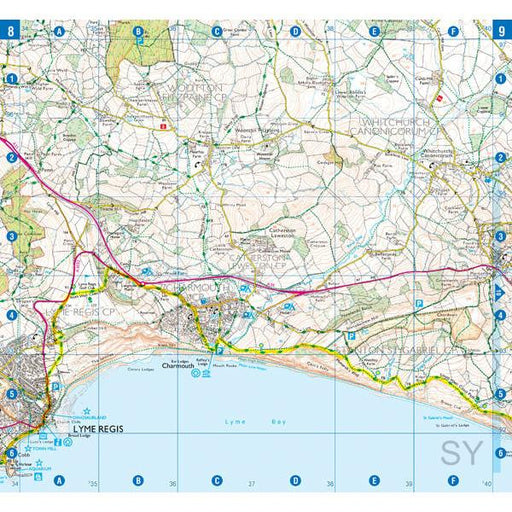 South West Coast Path 5 Dorset A-Z Adventure Atlas-The Trails Shop