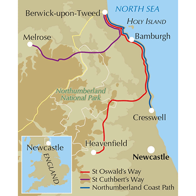 St Oswald's Way and St Cuthbert's Way-The Trails Shop