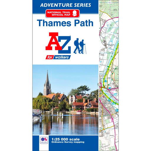 Thames Path A-Z Adventure Atlas-The Trails Shop