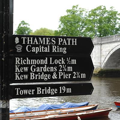 Thames Path signs-The Trails Shop