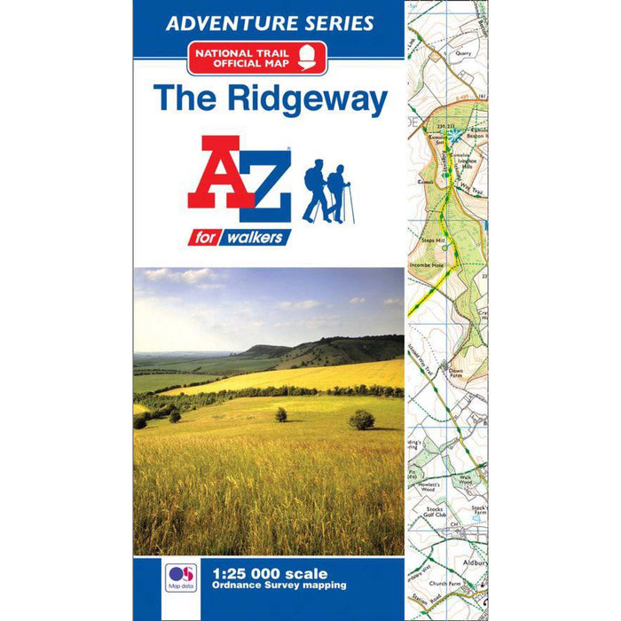 The Ridgeway A-Z Adventure Atlas-The Trails Shop