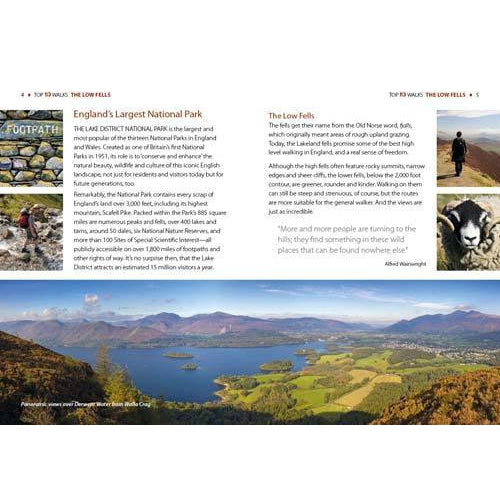 Top 10 Walks - Lake District: Low Fells-The Trails Shop
