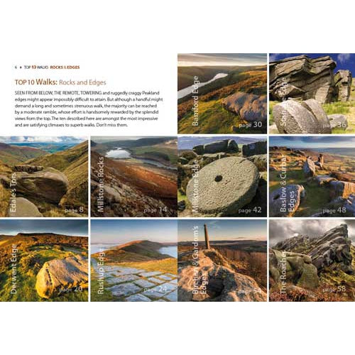 Top 10 Walks - Peak District: Rocks & Edges-The Trails Shop