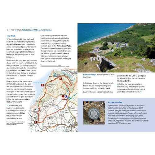 Top 10 Walks - Wales Coast Path: Llŷn Peninsula-The Trails Shop
