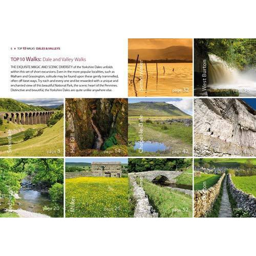 Top 10 Walks - Yorkshire Dales: Dales & Valleys-The Trails Shop