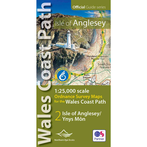 Wales Coast Path: Isle of Anglesey OS Map Atlas-The Trails Shop