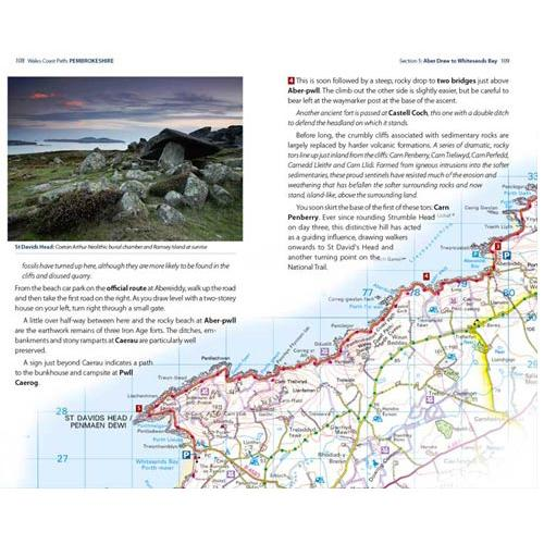 Wales Coast Path: Pembrokeshire-The Trails Shop