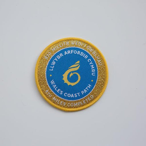 Wales Coast Path woven badge-Wales Coast Path-The Trails Shop
