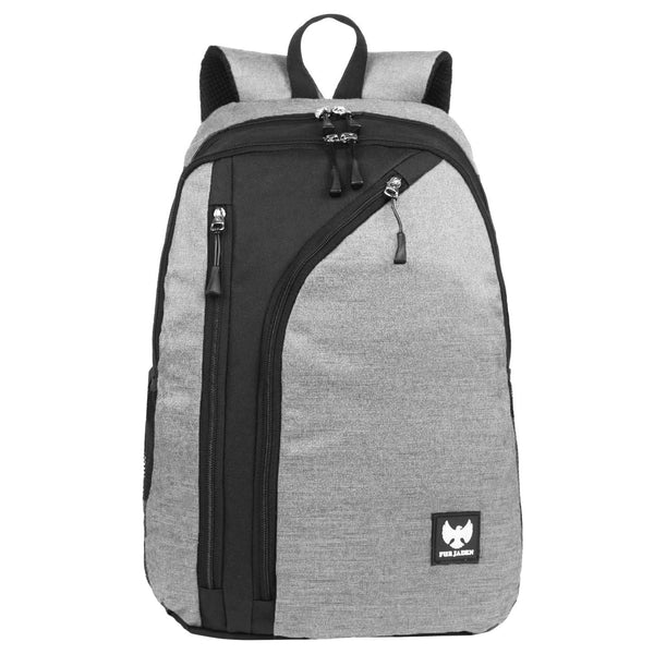 Fur Jaden Grey 15.6 Inch Laptop Casual Backpack