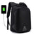 Fur Jaden 20L Black Anti Theft 15.6 Laptop Backpack with USB Charging Port