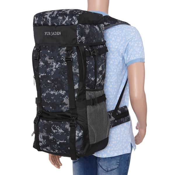 55 LTR Army Rucksack with external Shoe Compartment (Marine)