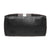 Fur Jaden Black Weekender Duffle Bag for Travel for Men and Women Made of Premium Leatherette with Attachable Shoulder Strap