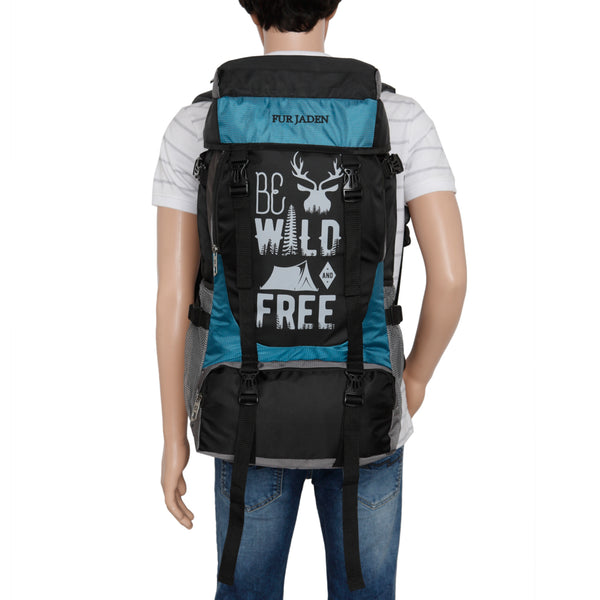 Fur Jaden 55 LTR Rucksack Travel Backpack Bag for Trekking, Hiking with Shoe Compartment