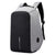 Fur Jaden 15 Ltrs Grey Anti Theft Waterproof Laptop Backpack with USB Charging Port