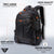 Fur Jaden Black Leatherette 15.6 Inch Laptop Backpack