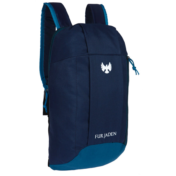 Fur Jaden Hiking Camping Rucksack Casual 10 Ltrs Blue Casual Backpack (BM43_Blue)