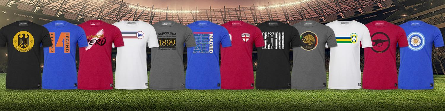 6ce40f5db TheSoccerNuts.com - Extremely Soft and Comfortable Soccer T-Shirts