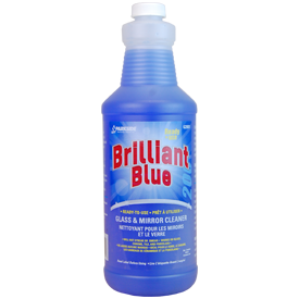 Brilliant Blue Glass Cleaner - Aerosol Can & Liquid