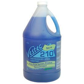 Vestec 210 Concentrated Commercial Low Temp Rinse Additive