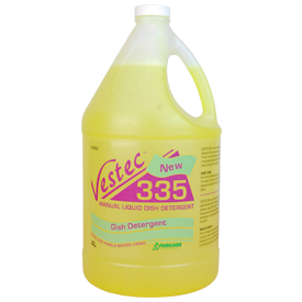 Vestec 335 Concentrated Pot and Pan Detergent, Lemon Scented