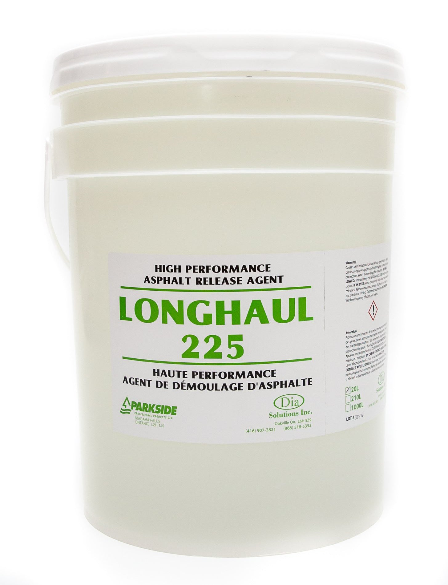 Longhaul 225 High Performance Asphalt Release Agent