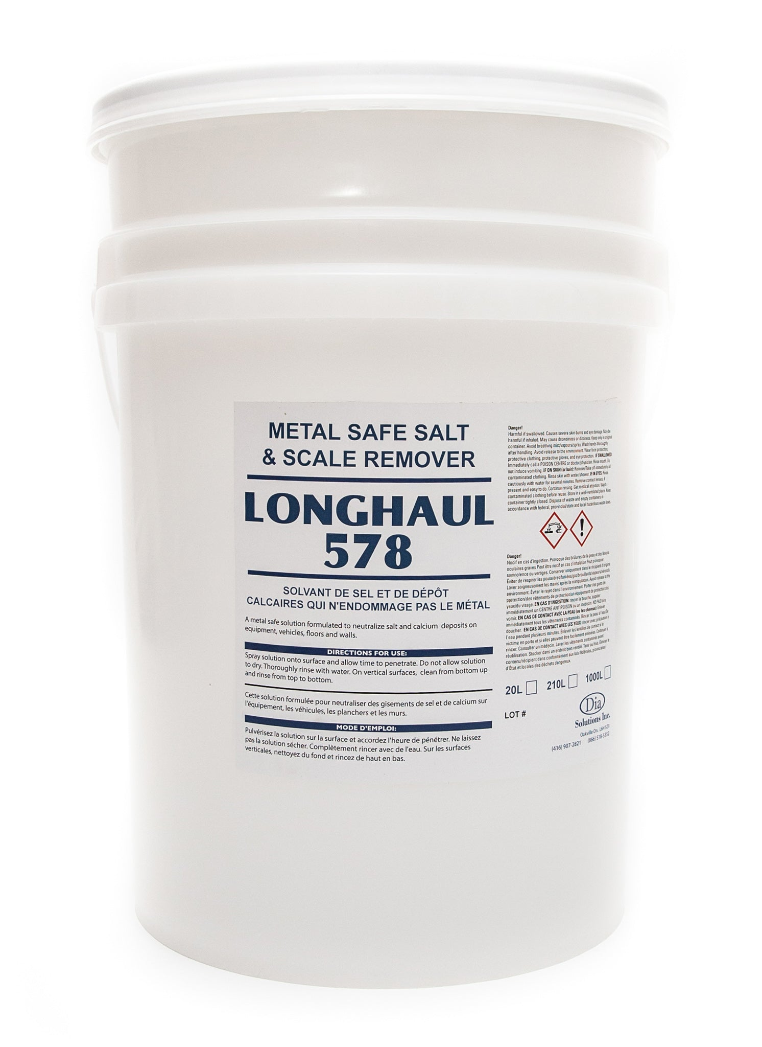 Longhaul 578 - Metal Safe Salt and Scale Remover