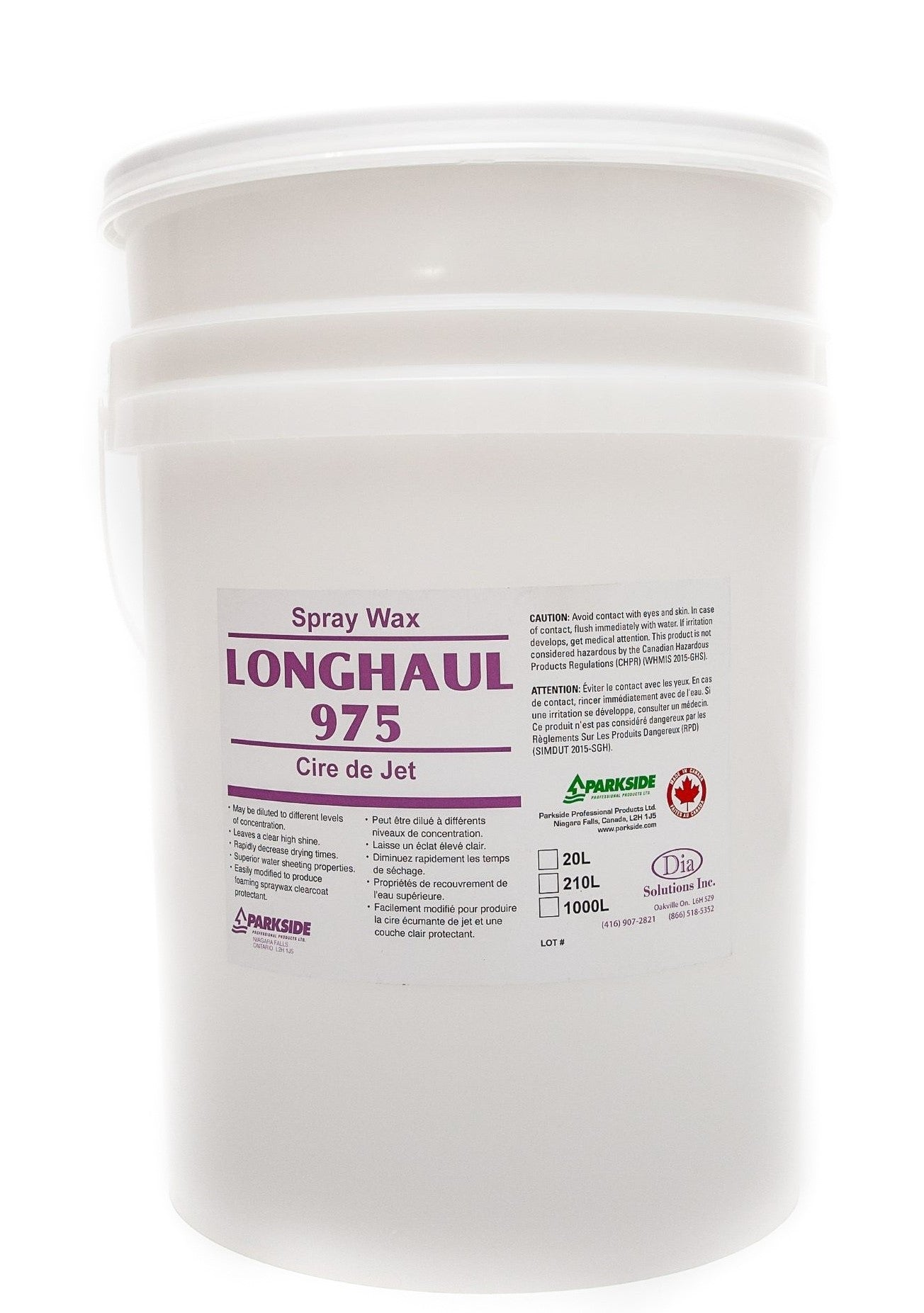 Longhaul 975 - Spray Wax