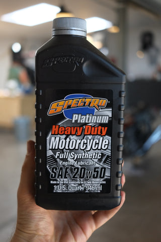 What oil should I use on my Motorcycle?