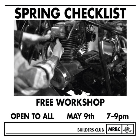 Free Workshop May 9th