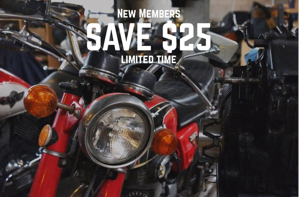Save $25 off new memberships