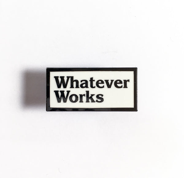Whatever Pin-MOTO REVERE