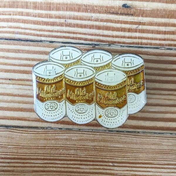 Old Milwaukee Six-pack Enamel Pin-MOTO REVERE