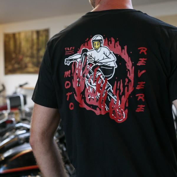 Grin of Fire T Shirt-MOTO REVERE
