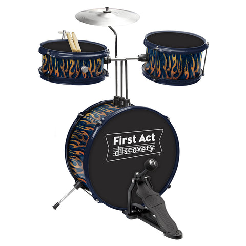 Drum Set: Blue Fire Tire