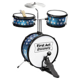 Drum Set: Blue Stars