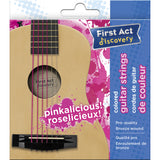 Guitar Strings - Pink