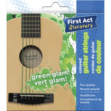 Guitar Strings - Green