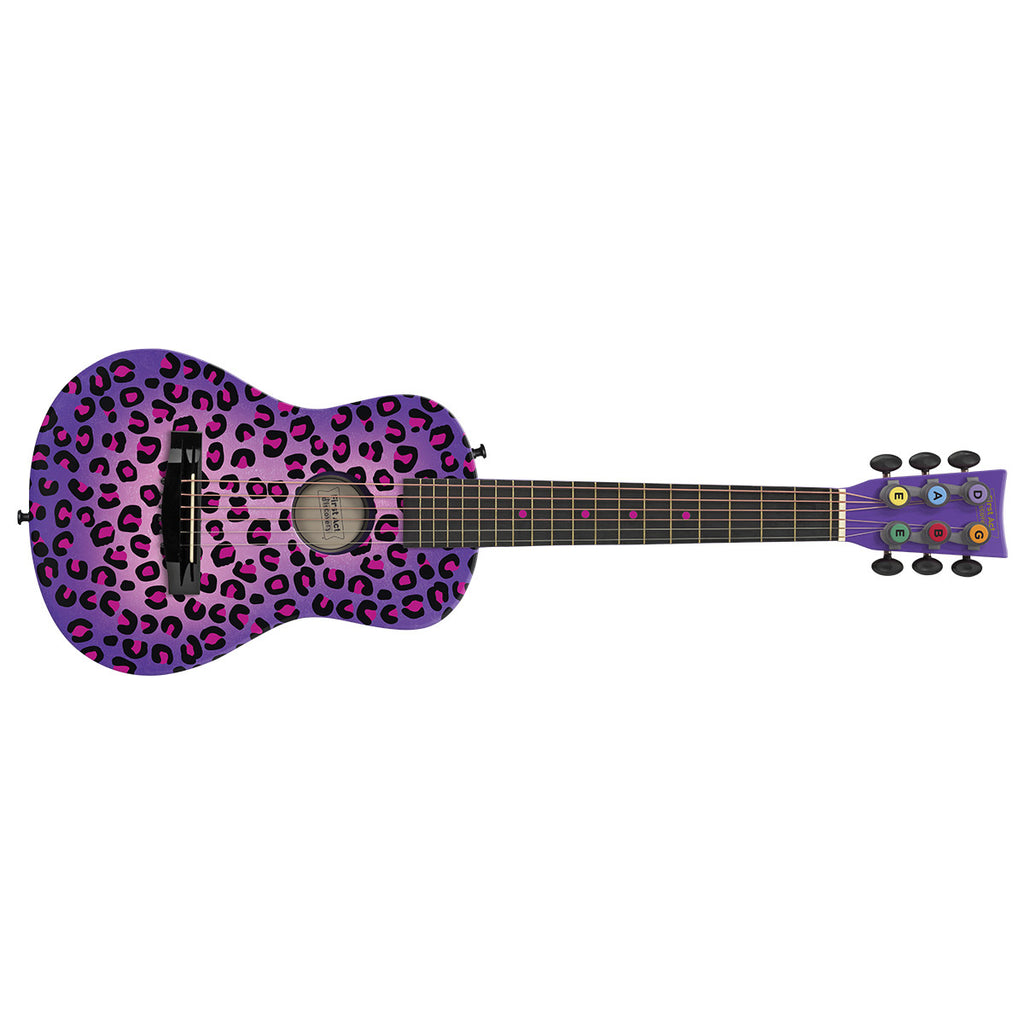 Acoustic Guitar: Purple Cheetah