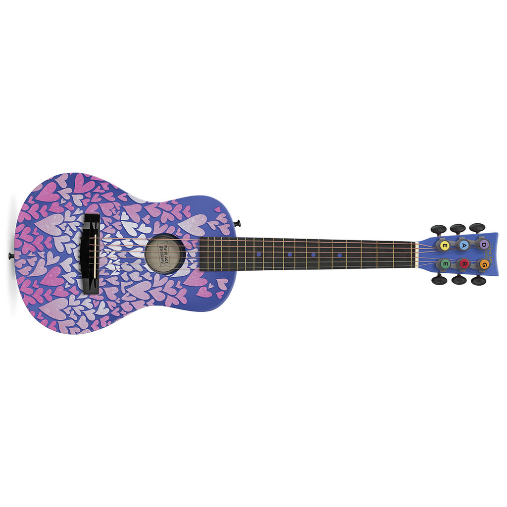 Acoustic Guitar: Purple Hearts