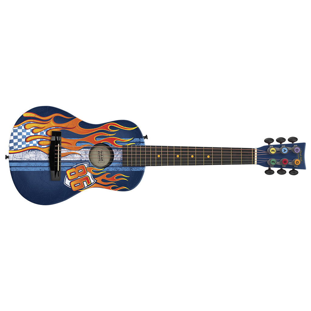 Acoustic Guitar: 86 Race Flames