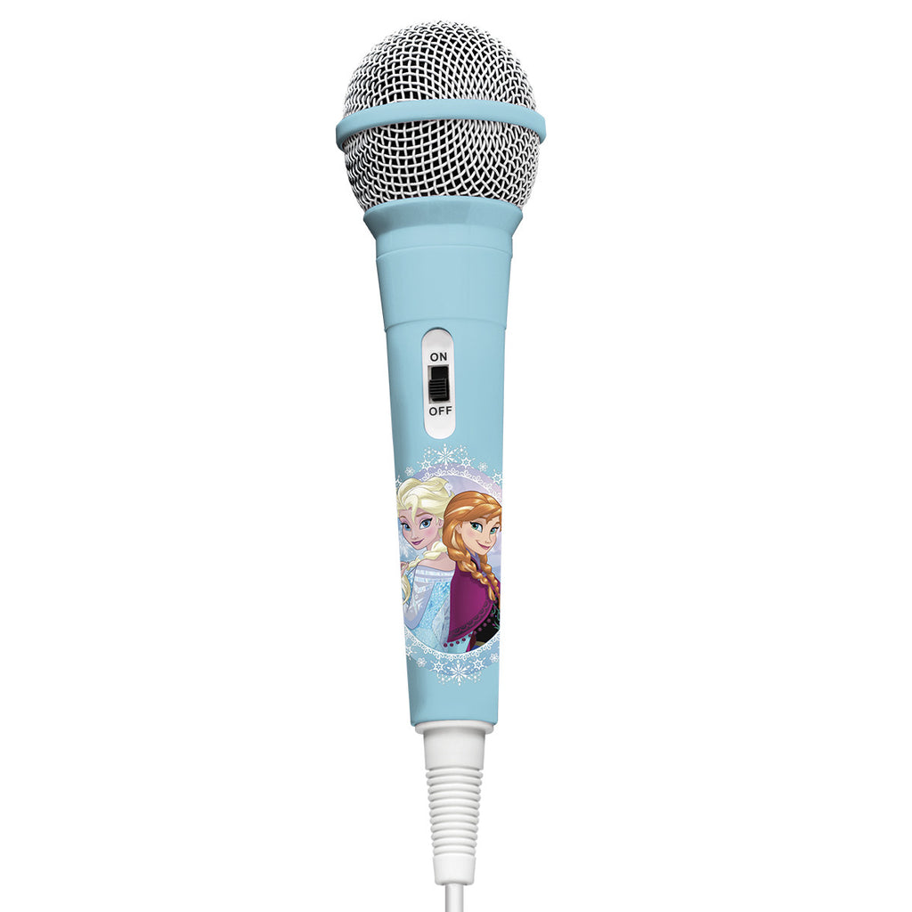 Microphone with Patch Cord: Frozen
