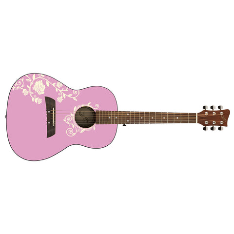 Acoustic Guitar: Pink Rose