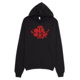 Handstyle Hoodie [red on black]