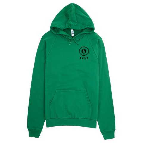 Graff League Hoodie [1312] - Irish Green - Vandal Wisdom
