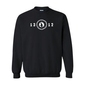 Graff League [1312] - Black Crewneck Sweatshirt - Vandal Wisdom