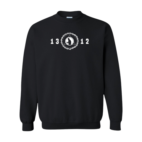 Graff League [1312] - Black Crewneck Sweatshirt