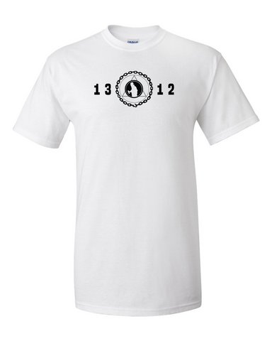 Graff League 1312 White T Shirt ACAB