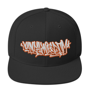 Open image in slideshow, Handstyle Scribbles - Classic Yupoong Snapback - Embroidered - Vandal Wisdom