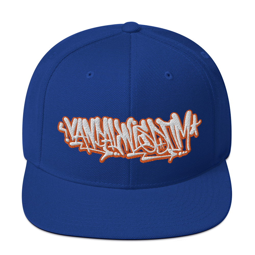 Handstyle Scribbles - Classic Yupoong Snapback - Embroidered - Vandal Wisdom