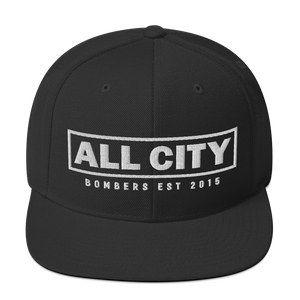 Open image in slideshow, All City Bombers est 2015 - Yupoong Classic Snapback - Vandal Wisdom